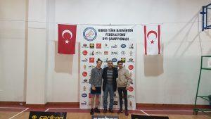 U19 ÇİFT ERKEK ŞAMPİYONU